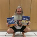 Ken Bob Saxton with Barefoot Running Step by Step in English and Japanese