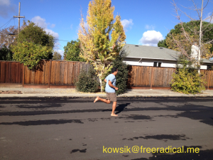 -- Barefoot Running Style