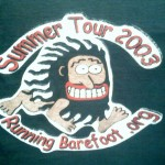 Running Barefoot 2003 Summer Tour