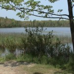 Ken Bob's Ellis Lake solo run (2003 May 21) Interlochen MI