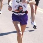 Ken Bob running Grandma's Marathon (2003 June 21) Duluth MN