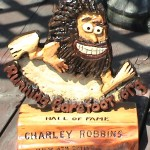 Running Barefoot Hall of Fame Award for Charlie Robbins