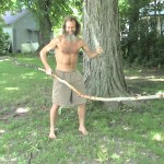 caveman Ken Bob, branching out (2003 June 13) Grawn MI