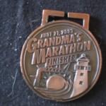 medal Grandma's Marathon (2003 June 21) Duluth MN