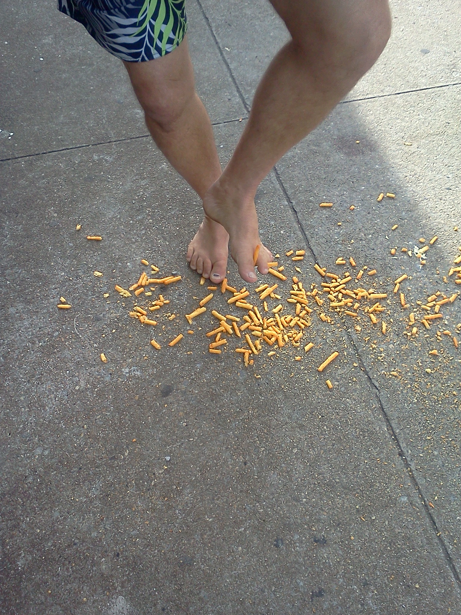 Cheeto Hazard, NYC Barefoot Run (2011 September 24-25) New York City NY