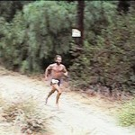 Ken Bob in the 1997 Road Less Traveled 10-mile Trail Race
