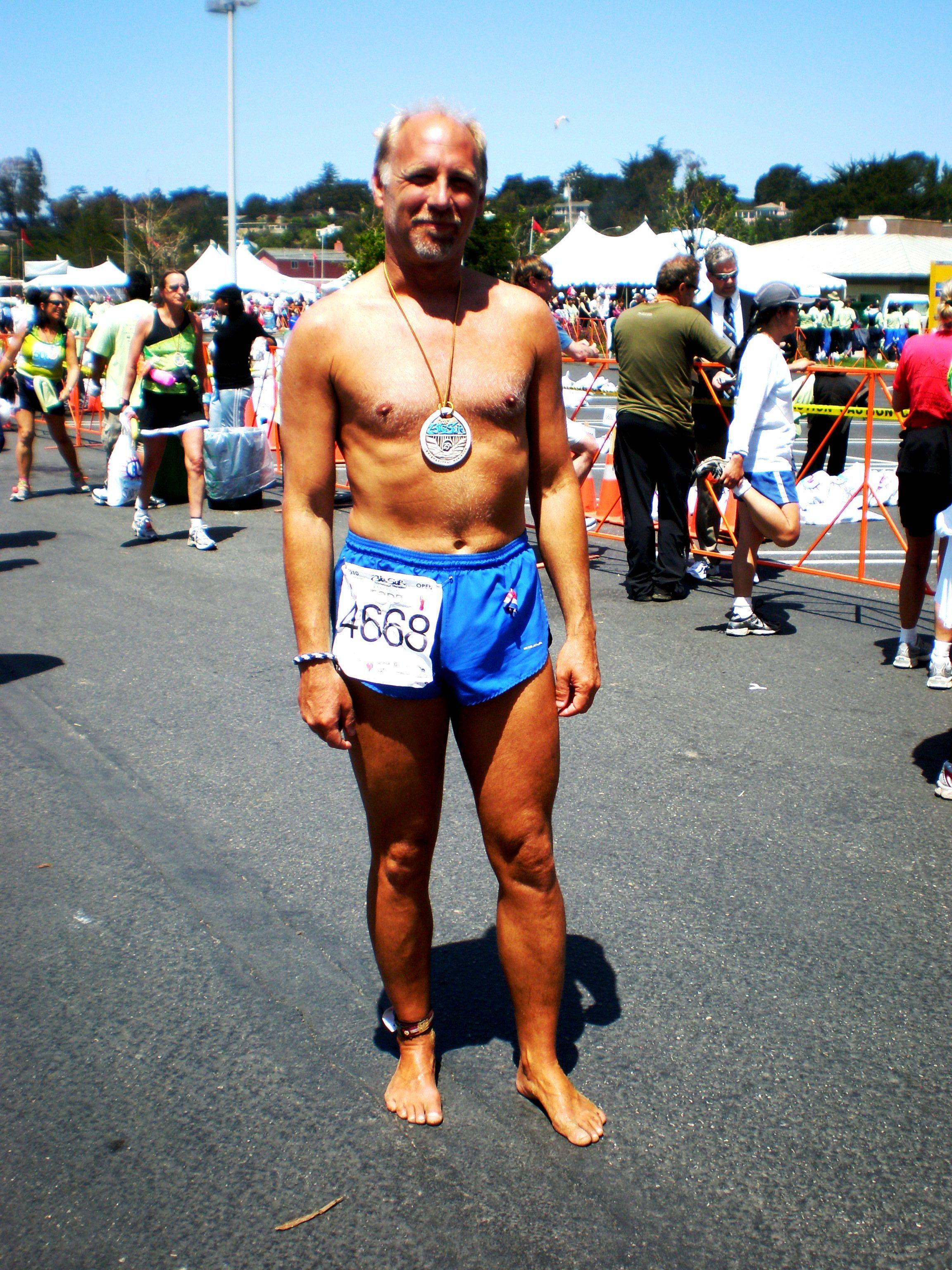 Todd at Big Sur International Marathon