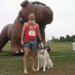 Todd the Barefoot Race Official – Paws for Cause (2009 August 2)