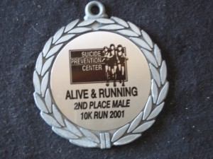 2nd place age division - with stress fracture?