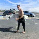 Barefoot Surfer, running