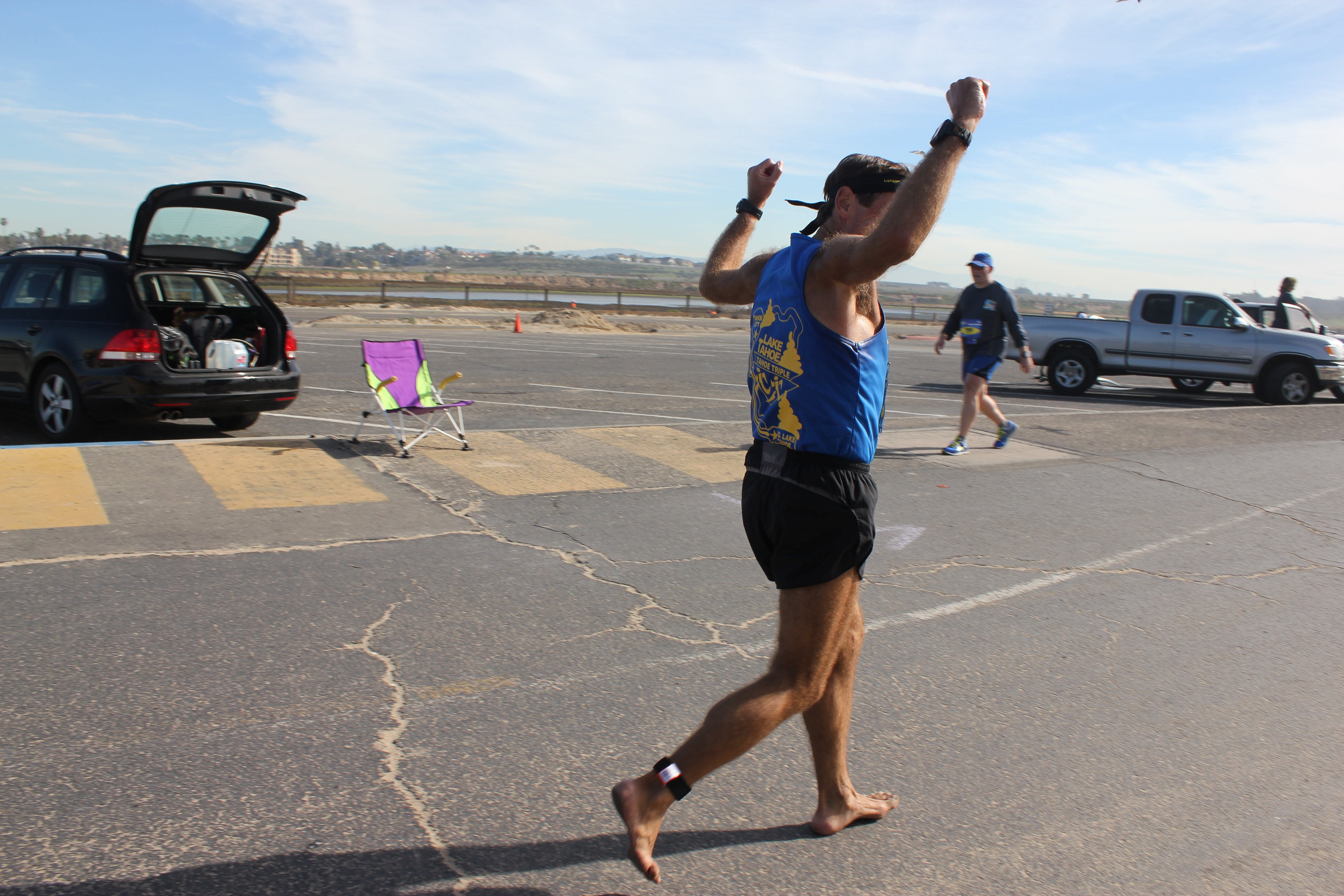 Barefoot Runner #1281 Alberto Perusset, Malibu CA