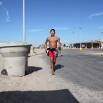 Barefoot Runner #2045 Huy T Phan, Irvine CA