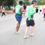 Will Tran, barefoot runner #18144