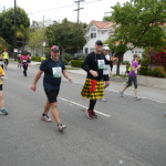 Richard Lewis, kilted runner #16892