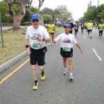 Bob Norton, runner #6115 and Bobby Porter, runner #6116