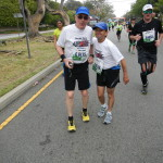 DSCN1253 Bob Norton, runner #6115 and Bobby Porter, runner #6116