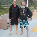 Barefoot runner (but not this race) and Ken Bob