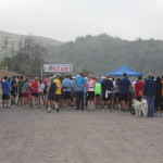 Start of all 3 races; 10K, 10M, 15M