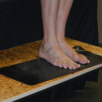 DSCN1516 DSCN1516 Michael's feet on an earthing pad