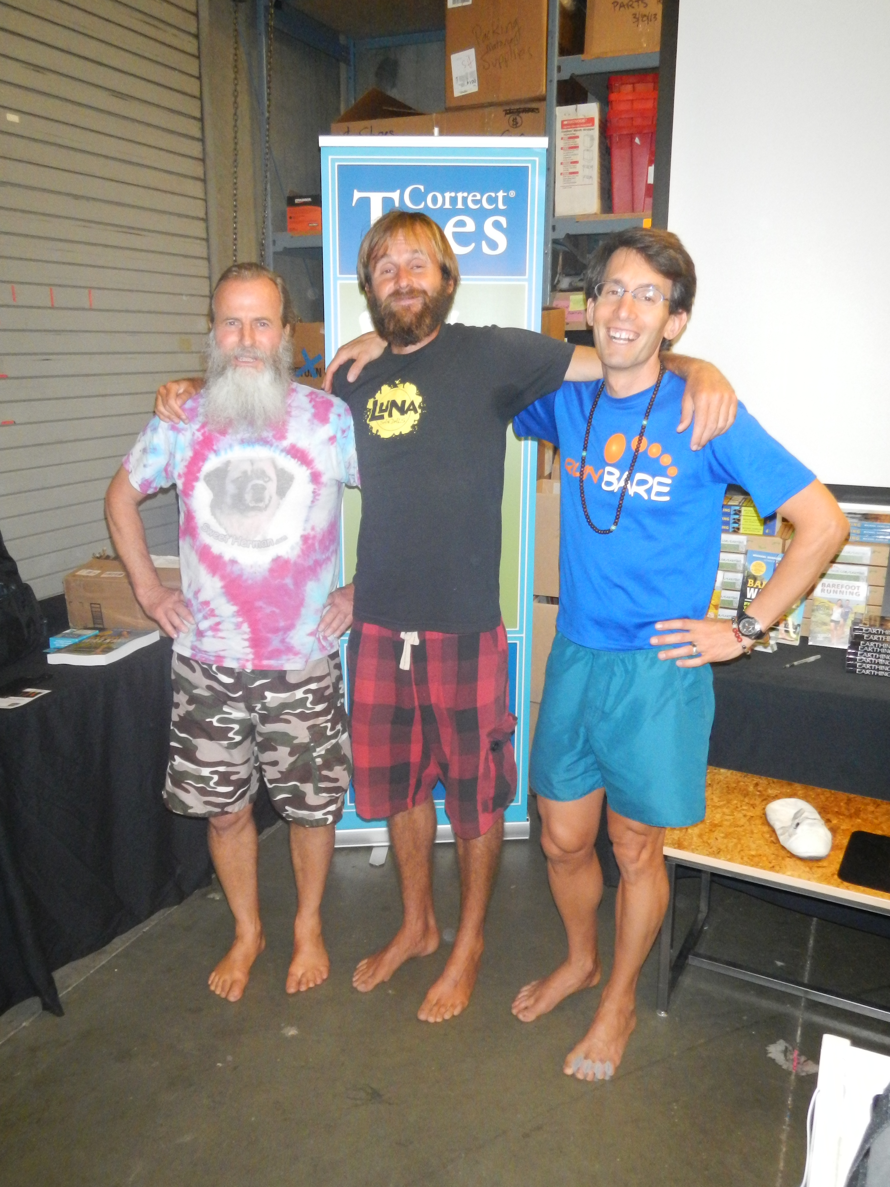 Ken Bob, Patrick, and Michael