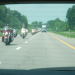 Motorcycles in upstate New York