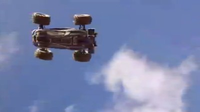 RC Car flying