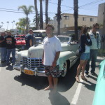 Adrian and a 1947 Cadillac