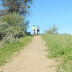 Ken Bob and Barely Barefoot Don at Chino Hills State Park
