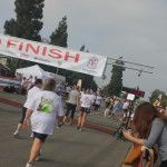 The finish clock says 11:23 ... sounds good to me!