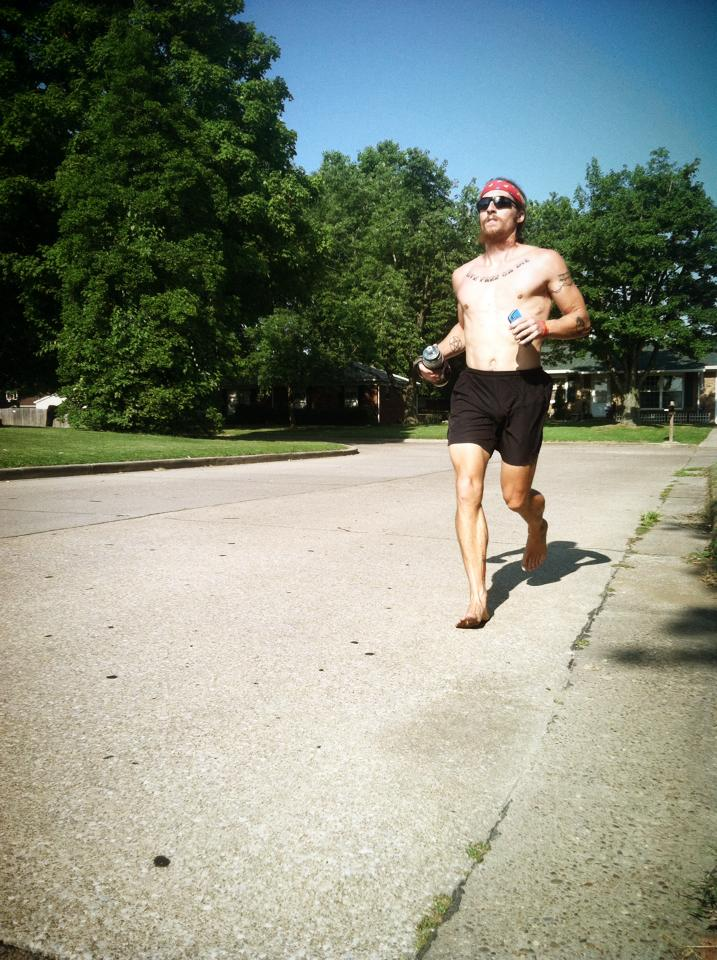 Jake Brown Plans to Run Barefoot Across the USA