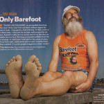 To Run Only Barefoot (2009 November) Runner's World
