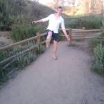 Jeroen's muddy sole