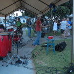 Live bands at the Sunset Beach Greenbelt Party