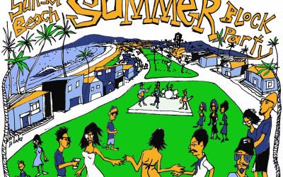Sunset Beach Summer Block Party