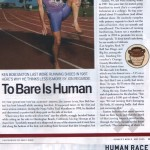Runner's World 2005 May Human Race p27-28