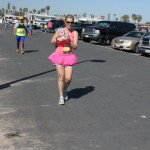 Pink tu tus are always cool running gear
