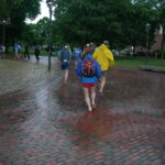 Follow the barefoot brick road. 2010 June 9, Cambridge MA