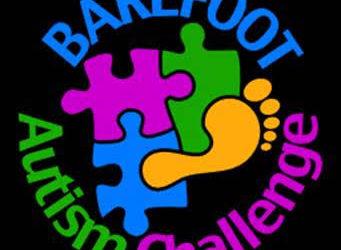 image of Barefoot Autism Challenge logo